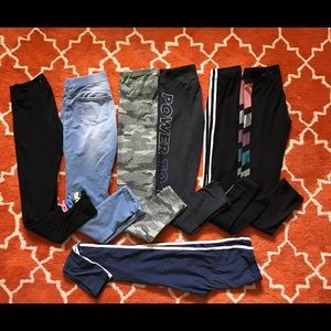 Other - Lot of 10 jeggins leggings pants size 12 small